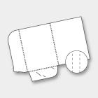 CARTELLE FUSTELLATE 23 x 31 cm CHIUSE <br> - DORSO 5 mm