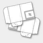 RILEGATURA CARTELLE 2 ante   Stampa lati esterni ed interni