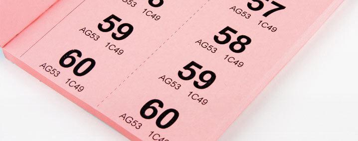Stampa biglietti per la Lotteria