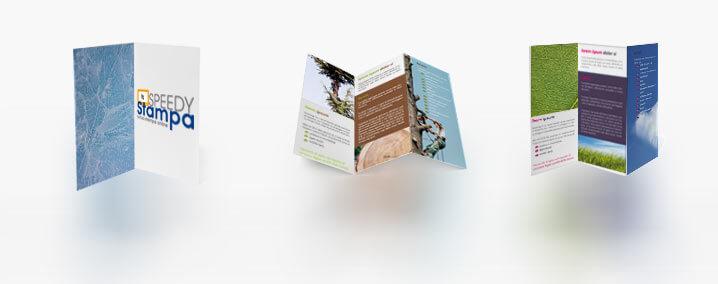 Stampa volantini online 9,8X9,8 cm QUADRATO